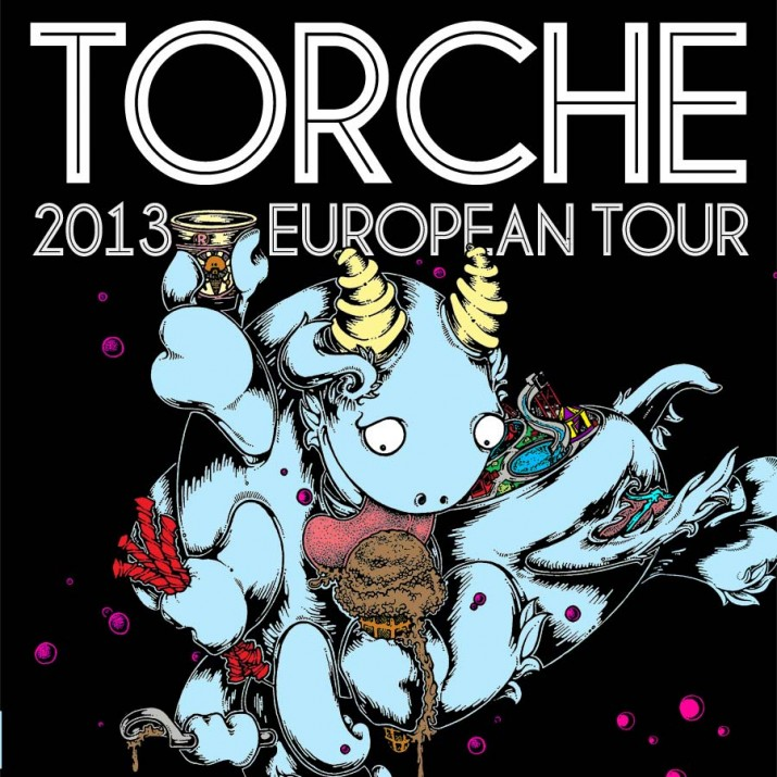 TORCHE-tourposter
