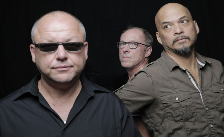 LEFT TO RIGHT:  Black Francis, David Lovering, Joey Santiago